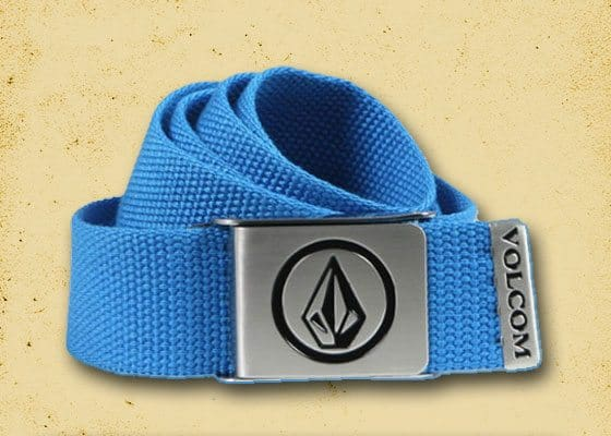 Volcom Circle Stone Web Belt (Blue)