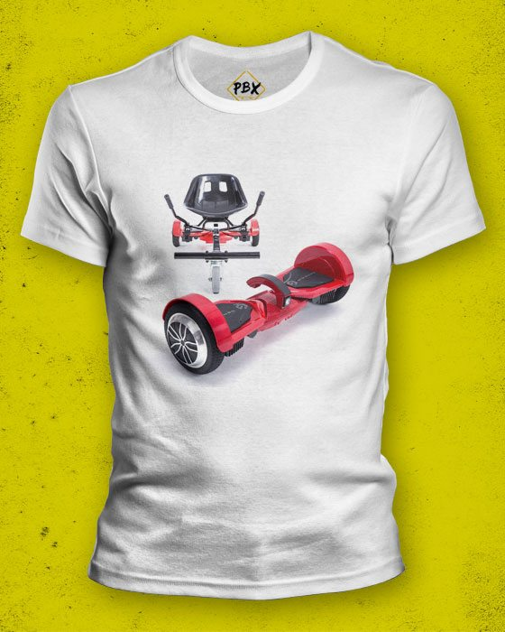 Genesis Hoverboard Cart T-Shirt
